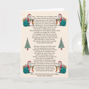 Santa Sleigh Nuit Personnalisé Noël Party Invitations Fêtes
