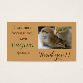 Cartes végétaliennes de Merci d'Outreach