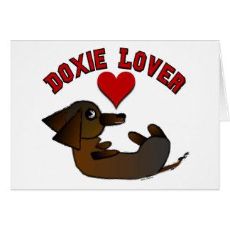 Cartes vierges d'amant de Doxie