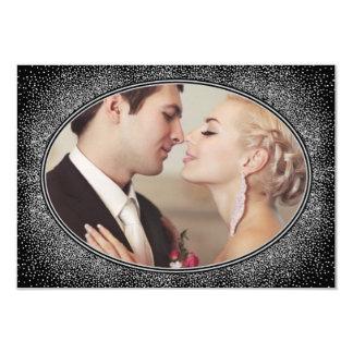 Cartes vintages de Merci de mariage de photo d'art Carton D'invitation 8,89 Cm X 12,70 Cm