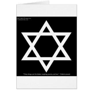 Cartes Yiddishs célèbres de tasses de tee - shirt