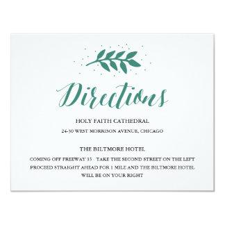 CARTON D'INVITATION 10,79 CM X 13,97 CM