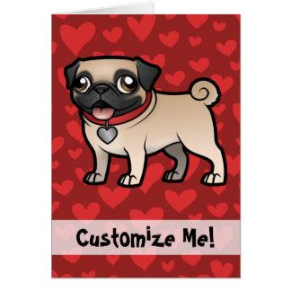 Cartoonize mon animal familier carte de vœux