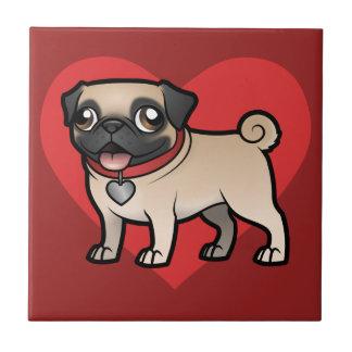 Cartoonize mon animal familier petit carreau carré