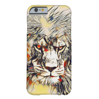 Cas africain de l'iPhone 6 d'art d'aquarelle Coque Barely There iPhone 6