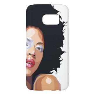 cas Afro-central de Samsung S7 Coque Samsung Galaxy S7
