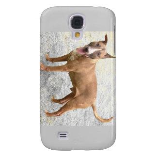 Cas anglais de téléphone de bull-terrier coque galaxy s4