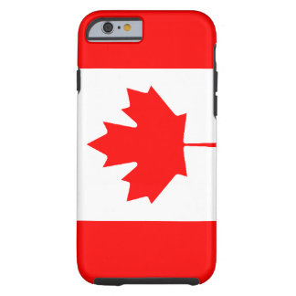 Cas canadien de l'iPhone 6 de drapeau