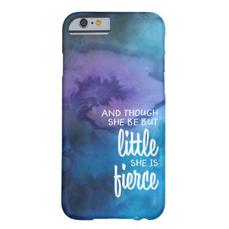 Cas de citation d'aquarelle coque barely there iPhone 6