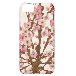 Cas de Coque-Compagnon de fleurs de cerisier Coque iPhone 5C