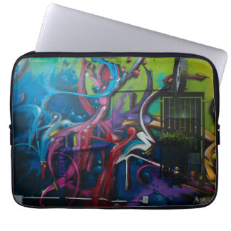 Cas de dessus de recouvrement d'art de graffiti housse pour ordinateur portable