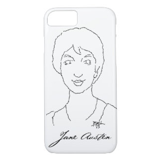 Cas de Jane Austen Smartphone Coque iPhone 7