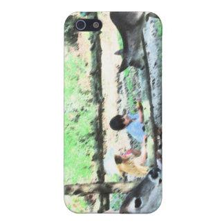 CAS de l'iPHONE 4 de TINKERBELL iPhone 5 Case