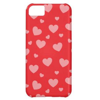 cas de l'iPhone 5 - coeurs Coque iPhone 5C