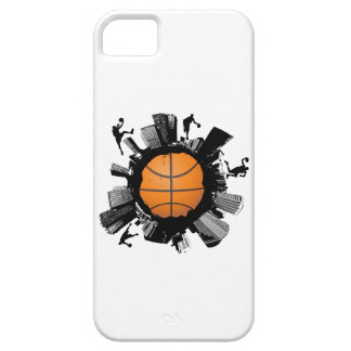 Cas de l'iPhone 5 de ville de basket-ball Coques iPhone 5 Case-Mate