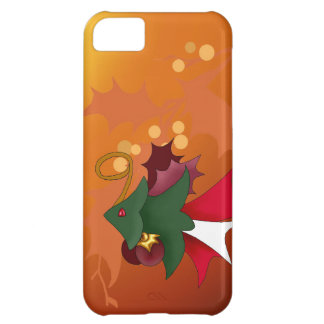 Cas de l'iPhone 5c de poissons d'arbre de Noël Coque iPhone 5C