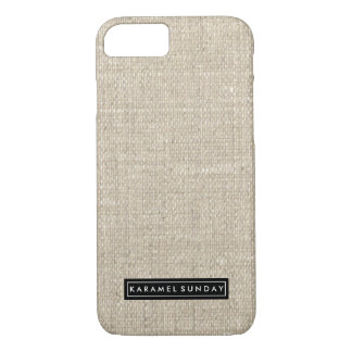 cas de l'iPhone 6/6s - nom de toile de signature Coque iPhone 8/7