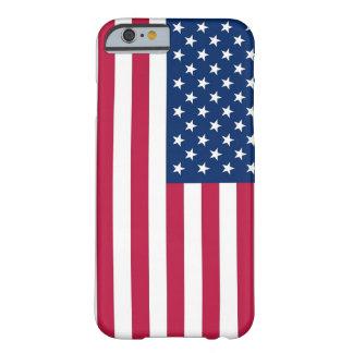 cas de l'iPhone 6 avec le drapeau des Etats-Unis Coque iPhone 6 Barely There