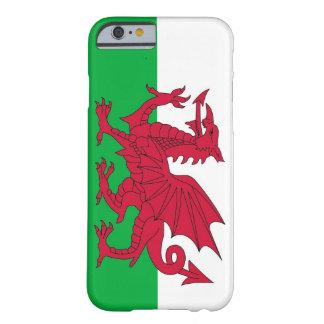 cas de l'iPhone 6 avec le drapeau du Pays de Galle Coque Barely There iPhone 6