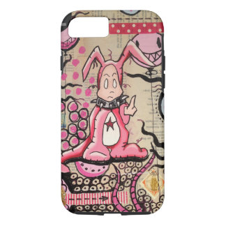Cas de l'iPhone 6 de bulles de lapin de miel Coque iPhone 7
