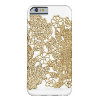 Cas de l'iPhone 6 de dentelle d'or d'Artandra Coque iPhone 6 Barely There