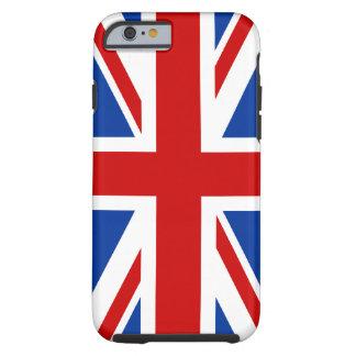 Cas de l'iPhone 6 de drapeau d'Union Jack