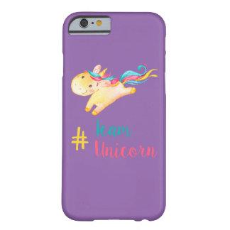 cas de l'iPhone 6 de #TeamUnicorn Coque Barely There iPhone 6