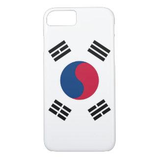 cas de l'iPhone 7 avec le drapeau de la Corée du Coque iPhone 7
