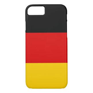 cas de l'iPhone 7 avec le drapeau de l'Allemagne Coque iPhone 7