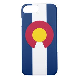 cas de l'iPhone 7 avec le drapeau du Colorado Coque iPhone 7