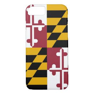 cas de l'iPhone 7 avec le drapeau du Maryland Coque iPhone 7