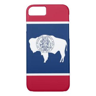 cas de l'iPhone 7 avec le drapeau du Wyoming Coque iPhone 7