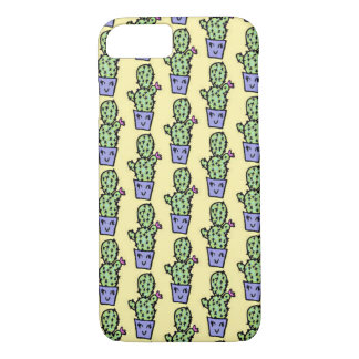 Cas de l'iPhone 7 de motif de cactus Coque iPhone 7