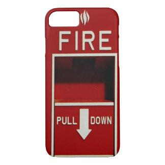 Cas de l'iPhone 7 de station de traction du feu Coque iPhone 7