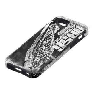 Cas de l'iPhone SE/5/5s de Washington de cuirassé iPhone 5 Case
