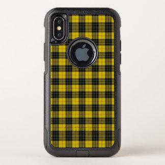 Cas de l'iPhone X d'Otterbox de plaid de tartan de