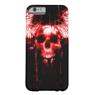 cas de messager de la mort de crâne de Skully de Coque Barely There iPhone 6
