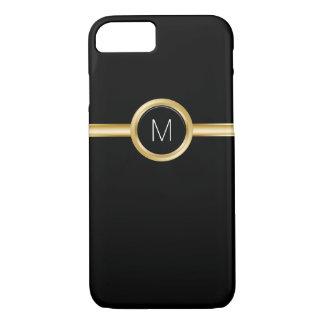 Cas de monogramme des affaires des hommes de luxe coque iPhone 8/7