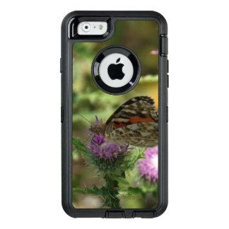 Cas de série de défenseur d'iPhone de Buttefly Coque OtterBox iPhone 6/6s