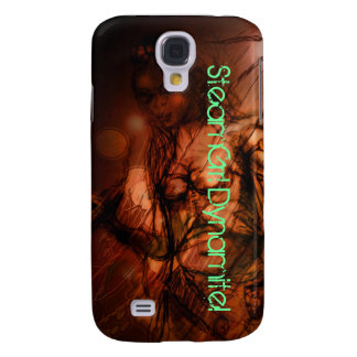 Cas de Steamgrrl Iphone Coque Galaxy S4