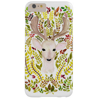 Cas de technologie d'aquarelle de cerfs communs coque iPhone 6 plus barely there