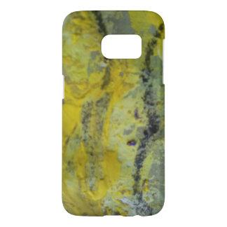 Cas de téléphone avec le détail de peinture coque samsung galaxy s7