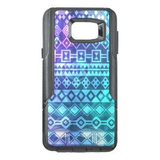 Cas de téléphone brûlé par couleur tribale aztèque