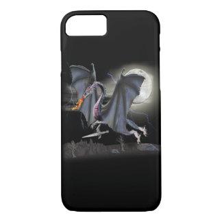 Cas de téléphone d'art d'imaginaire de dragon coque iPhone 7
