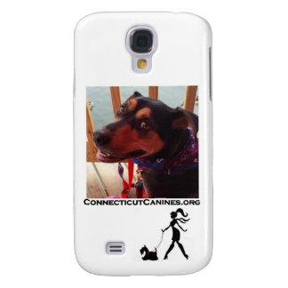 Cas de téléphone de canines du Connecticut Coque Galaxy S4