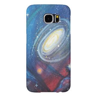 Cas de téléphone de galaxie