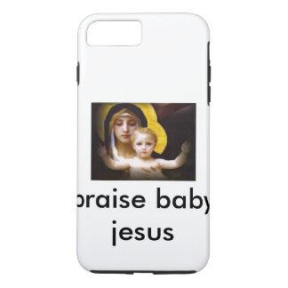 cas de téléphone de Jésus de bébé Coque iPhone 7 Plus
