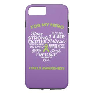 Cas de téléphone de la conscience CDKL5, histoire Coque iPhone 7 Plus
