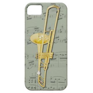 Cas de téléphone de trombone (valve). Couleur de iPhone 5 Case