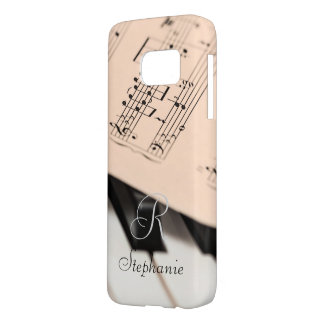 Cas de téléphone. Monogramme Coque Samsung Galaxy S7
